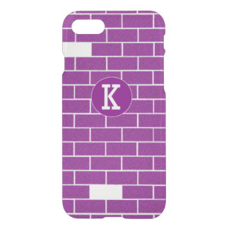 Purple bricks iPhone 7 case