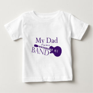 Purple Dad is in a Band Tees