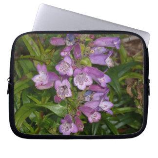 Purple Flowers Laptop Sleeves