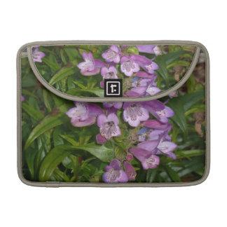 Purple Flowers Sleeves For MacBook Pro