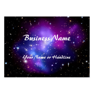 Purple Galaxy Cluster MACS J0717 Space Pack Of Chubby Business Cards
