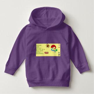 Purple Groovy Kids Gear Hoodie