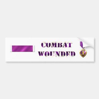 Purple Heart Sticker Set Bumper Sticker