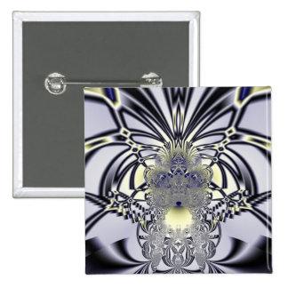 Purple Iris 15 Cm Square Badge