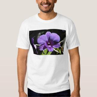 Purple Orchid Flower Faith Love Peace Destiny Shirts