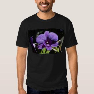 Purple Orchid Flower Faith Love Peace Destiny Tees