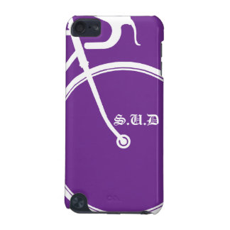 purple Pod Touch Bike Lovers iPod Touch (5th Generation) Case