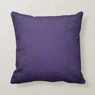 Purple Rose Pillow Cushion
