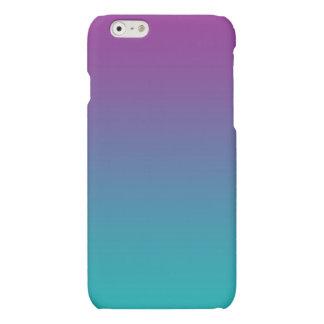 Purple & Teal Ombre iPhone 6 Plus Case