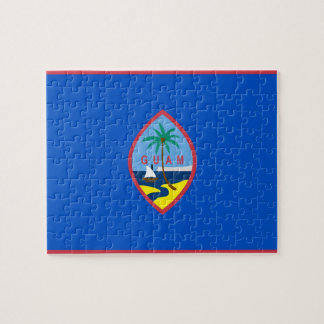 Puzzle with Flag of Guam