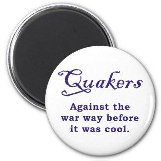 Quakers - War 6 Cm Round Magnet