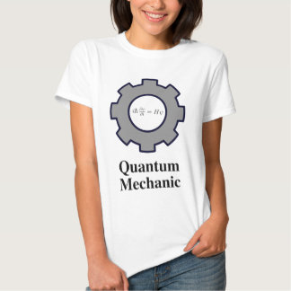 quantum mechanic, Schrodinger equation T-shirt