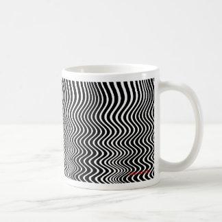 quantum waves basic white mug