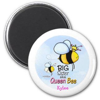 Queen Bee - Big Sister 6 Cm Round Magnet