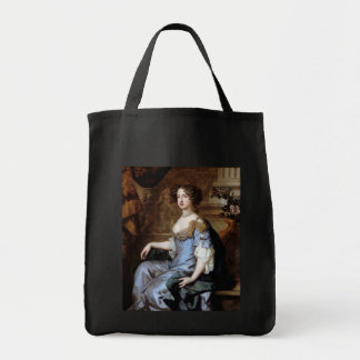 Queen Mary II by Sir Peter Lely Grocery Tote Bag