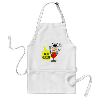 Queen of Barbequeing Standard Apron