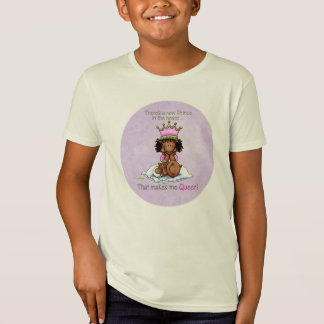 Queen of Prince - African American Big Sister Tee
