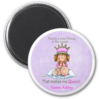 Queen of Prince - Big Sister 6 Cm Round Magnet