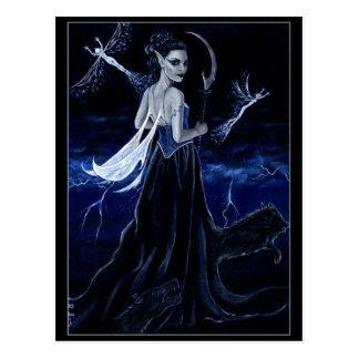 Queen of the Dark Hunt postcard