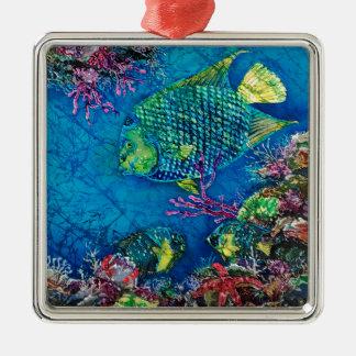 QueenOftheSea24-5x28ppi288AdobeRGBprofilebritr_Sue Silver-Colored Square Decoration
