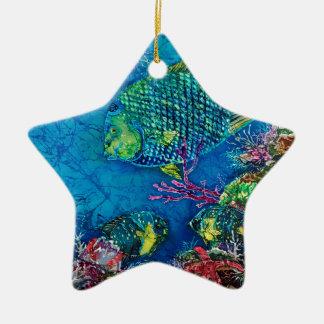 QueenOftheSea Ornaments-Many Shapes Ceramic Star Decoration