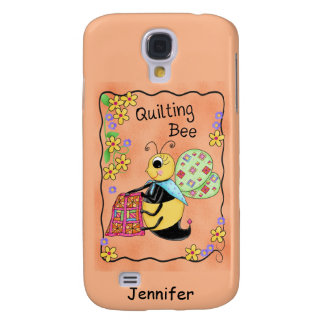 Quilting Bee Whimsy Honey Bee Yourself Art Galaxy S4 Case