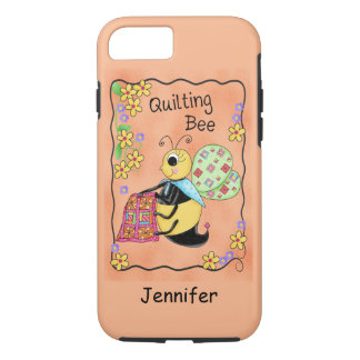 Quilting Bee Whimsy Honey Bee Yourself Art iPhone 7 Case