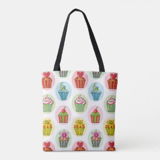 Quirky Cupcakes Tote Bag