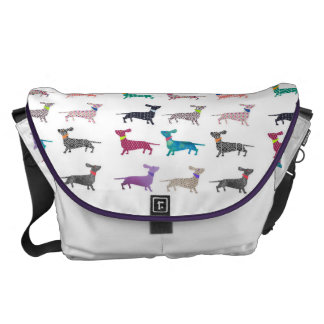 Quirky Dachshund Bag Commuter Bags