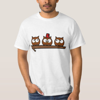 Quirky Owls - Dr T'Wit T'Who Tees