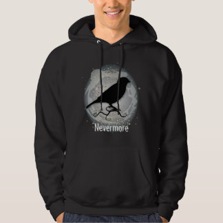~Quoth the Raven~ Hooded Pullover