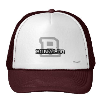 R is for Ronaldo Cap