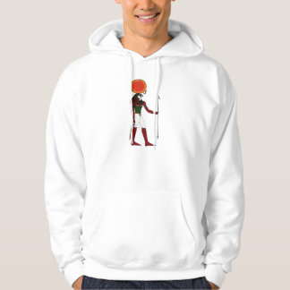 Ra the Ancient Egyptian God of the Sun and Kings Hooded Sweatshirt