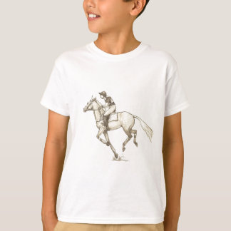 RACE TO FINISH Cross-Country Eventing T Shirts