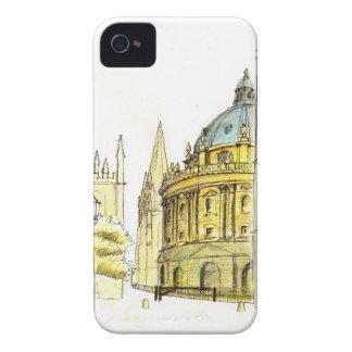 Radcliffe Camera original drawing Case-Mate iPhone 4 Case