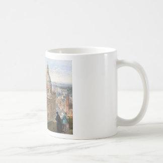 Radcliffe Camera Oxford by William Leighton Leitch Basic White Mug