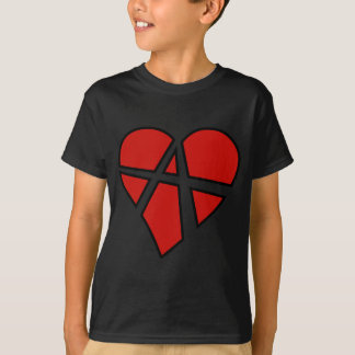 Radical Relations Reckless Heart Anarchy A Love Tee Shirt