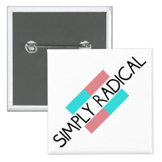 Radical Slant Logo Pin