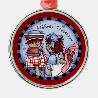Raggedy Ann and Andy Romance Ornament