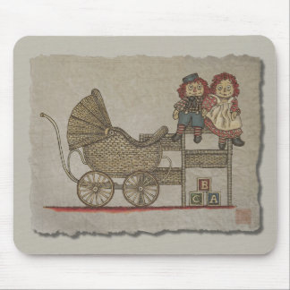 Raggedy Doll & Baby Buggy Mouse Pad