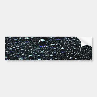Rain Drop Bumper Sticker