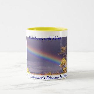 Rainbow Alzheimer's Mug