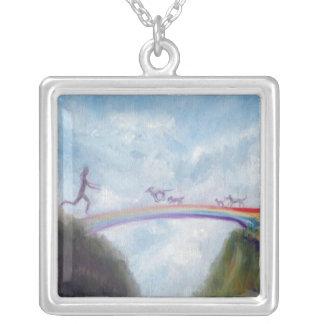 Rainbow Bridge Pendant Dog Cat Heaven Violano