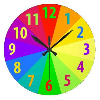 Rainbow Clocks