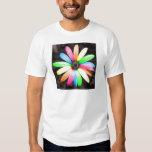 Rainbow daisy flower shirt