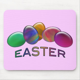 Rainbow Easter Eggs Mouse Pad