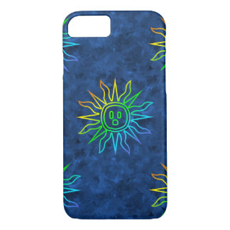 Rainbow Electric Sun iPhone 7 Case