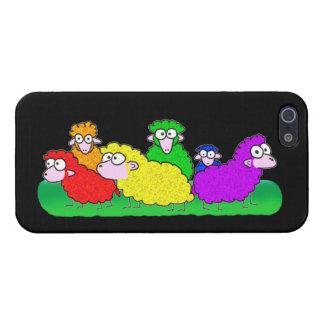 Rainbow Flock iPhone 5 Case