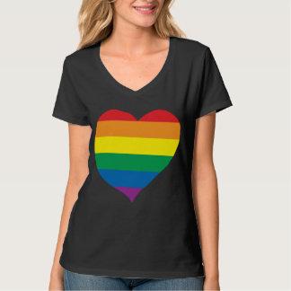 Rainbow Love Heart, Gay Pride, Love Wins Tees