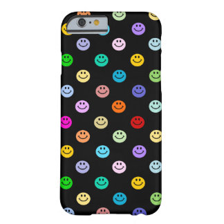 Rainbow Multicolor Smiley Face Pattern Barely There iPhone 6 Case